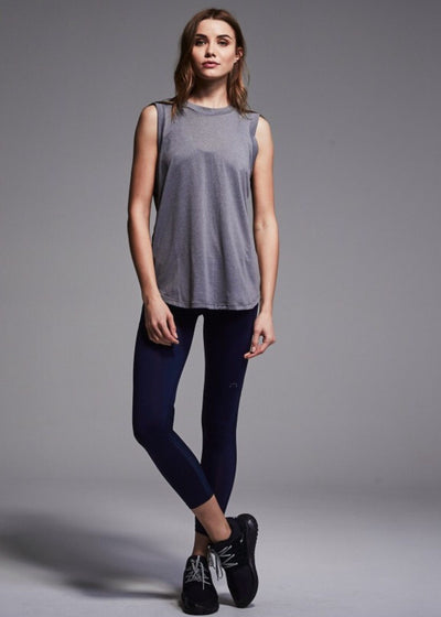 Athletic Tank - Varley Laurel Vest In Light Grey