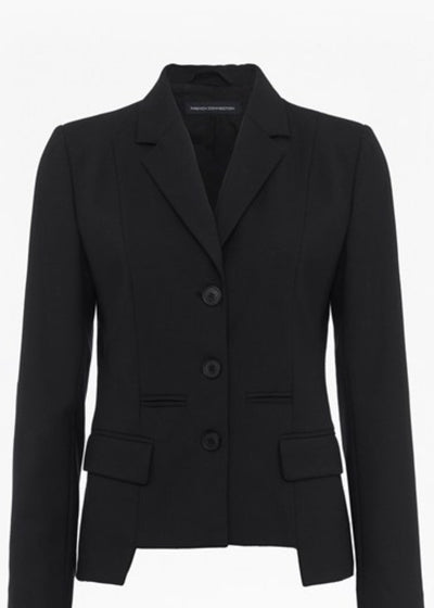 Jacket - Winter Tallulah Long Sleeve Classic Black Jacket