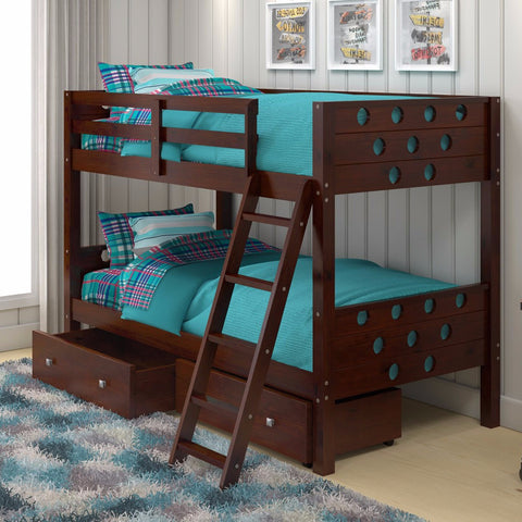 Circles Twin Over Bunk Bed