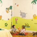 Jungle Safari Makeover Kit Wall Decals