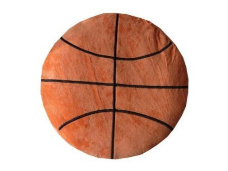 Basketball Sports Round Plush Pillow