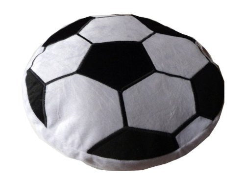 Soccer Sports Round Plush Pillow Fun Rooms For Kids