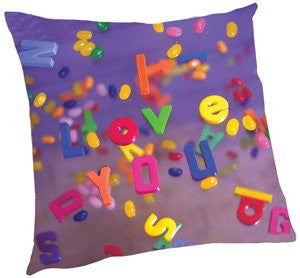 I Love You Letters Pillow