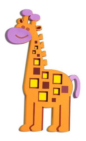 3D Foam Giraffe Wall Decal
