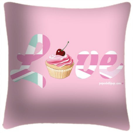Love Cupcake Pillow