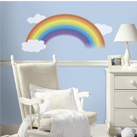 Giant Rainbow Wall Decals