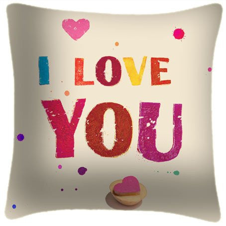 I Love You! Pillow
