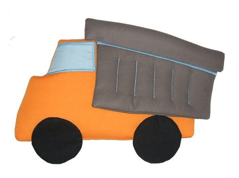 Dump Truck Fabric Wall Art