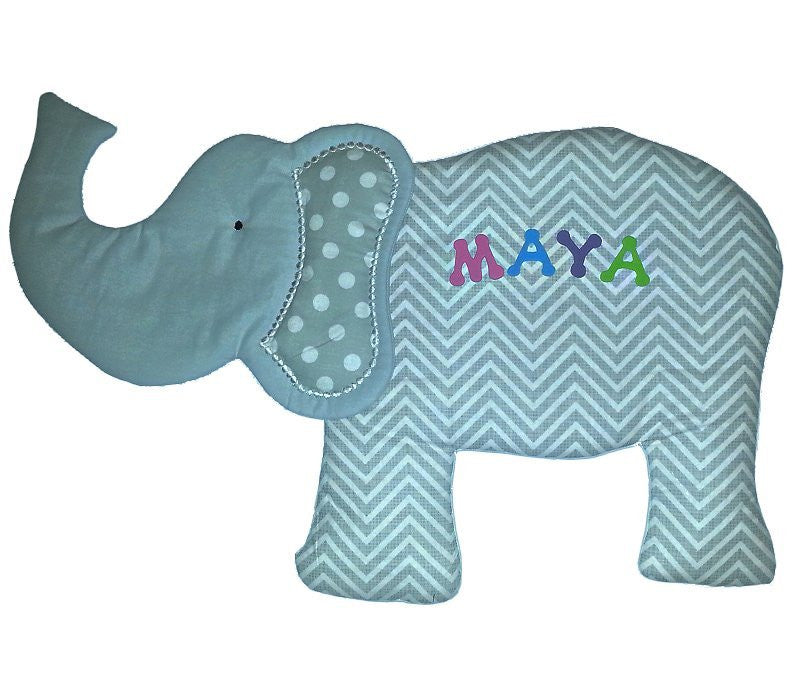 Elephant Nursery Fabric Wall Art