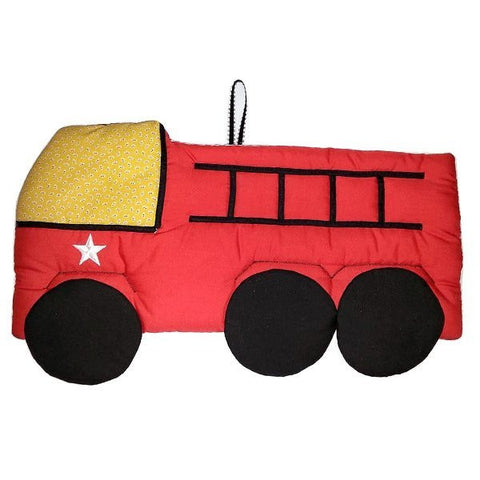 Firetruck Fabric Wall Art