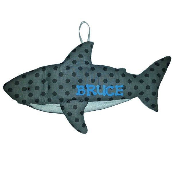 Shark Fabric Wall Art