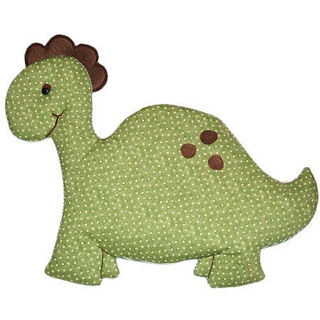 Green Dinosaur Fabric Wall Art