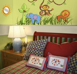 3D Foam Lion Wall Decal