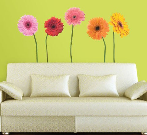 Gerber Daisies Flower Wall Decals