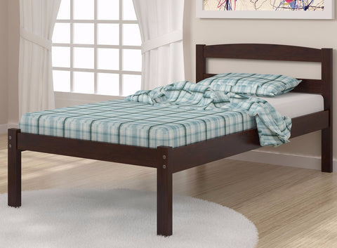 Twin Econo Bed - Dark Cappuccino