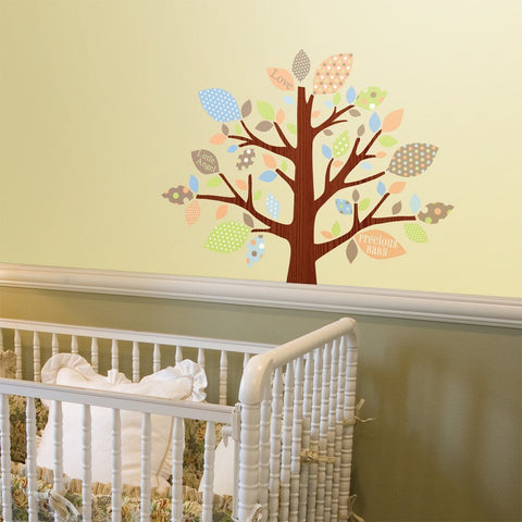 Tree of Love Nursery Wall Decals