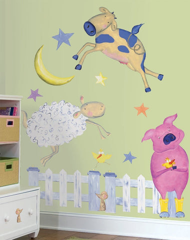 Farm Animal Wall Decals