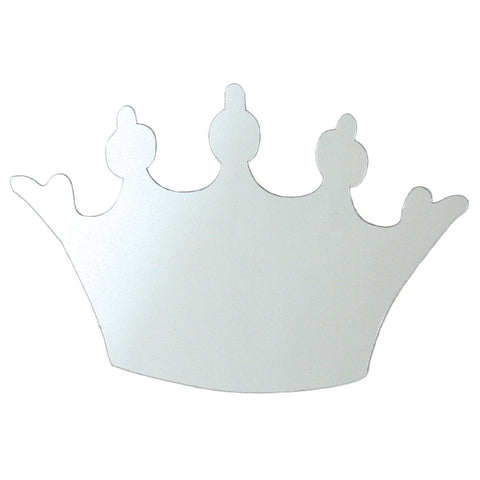 Princess Crown Mirror Wall Decal