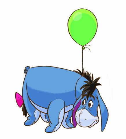 Eeyore Giant Wall Decal