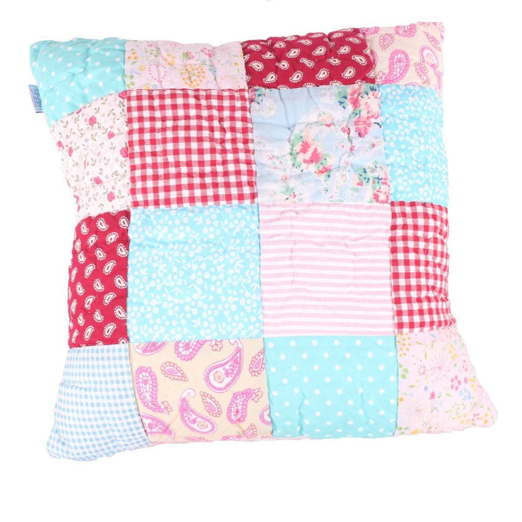 Matilda Patchwork Quilted Pillow