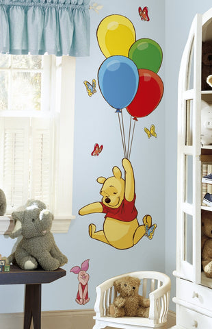 Winnie the Pooh and Piglet Giant Wall Decal