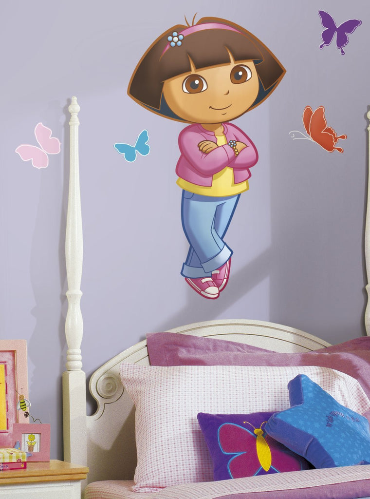 Dora The Explorer Giant Wall Decal Fun Rooms For Kids