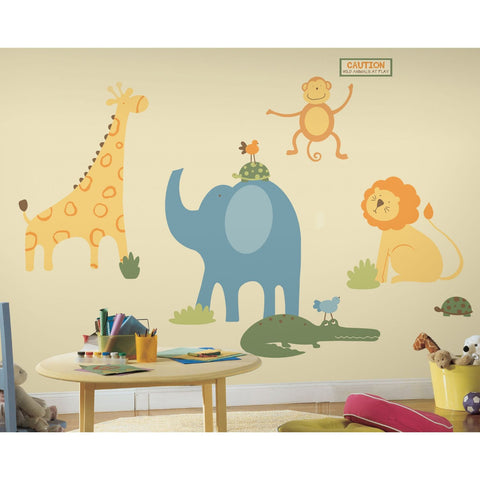 Zoo Animals Wall Decals