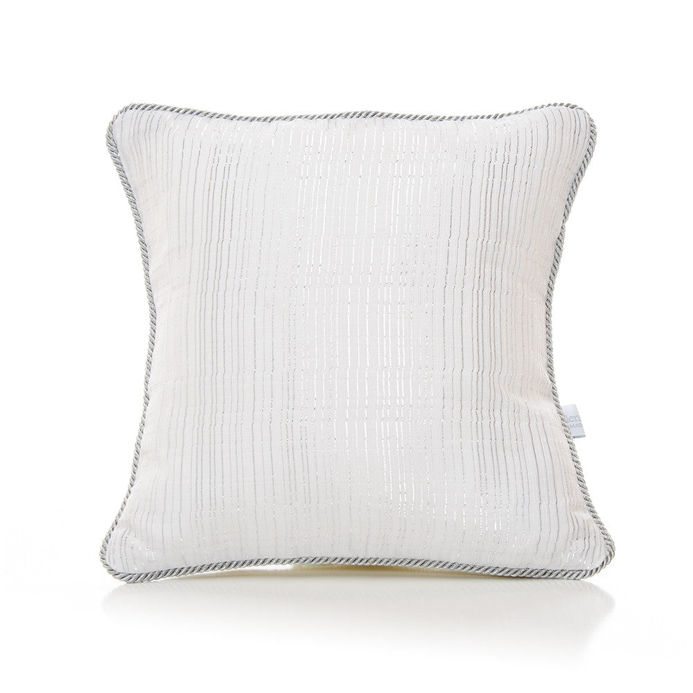 Metallic Stripe Pillow