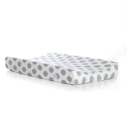 Grey Dot Changing Pad Cover