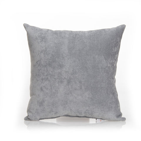 Swizzle Pink Gray Solid Pillow