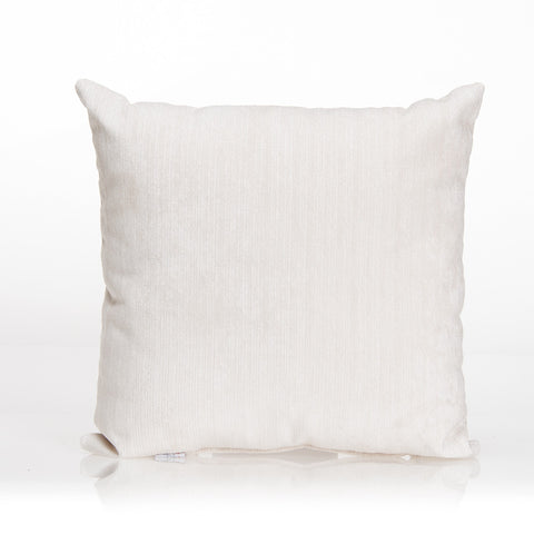 White Velvet Pillow