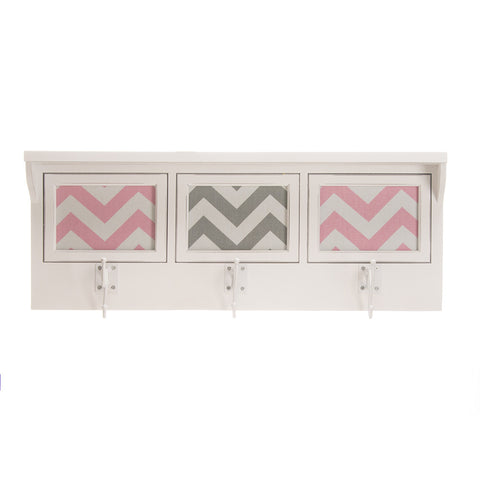 Swizzle Pink Photo Hanger Shelf