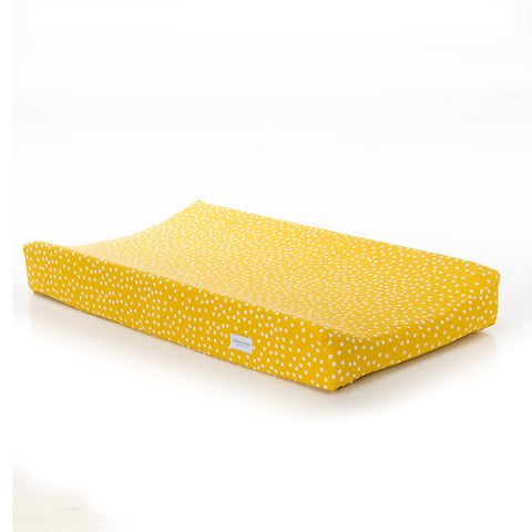Yellow Dot Changing Pad Cover