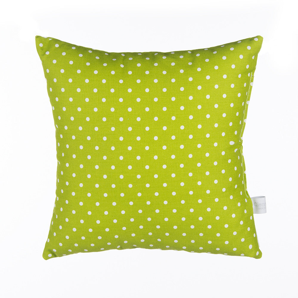 Green Polka Dot Pillow