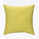 Green Print Pillow