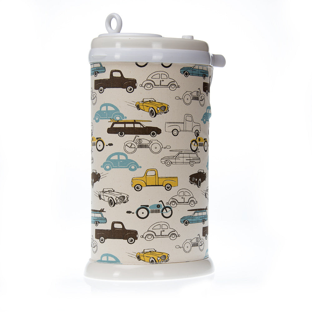 Traffic Jam Car Print Ubbi Diaper Pail Cover