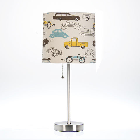 Traffic Jam Car Print Lamp