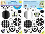 Black & White Polka Dot Wall Decals