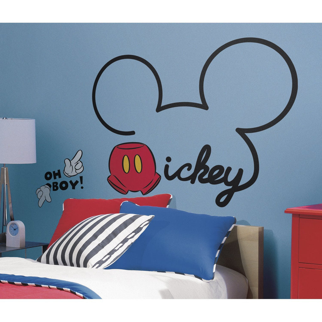 Mickey Mouse Bedroom Mickey Mouse Ears Wall Decal Fun Rooms For Kids