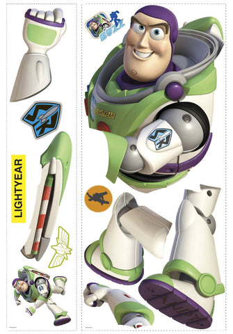 Toy Story Buzz Lightyear Glow In The Dark Giant Wall Decal