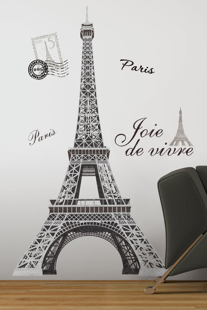 Incroyable Eiffel Tower Paris Wall Decals