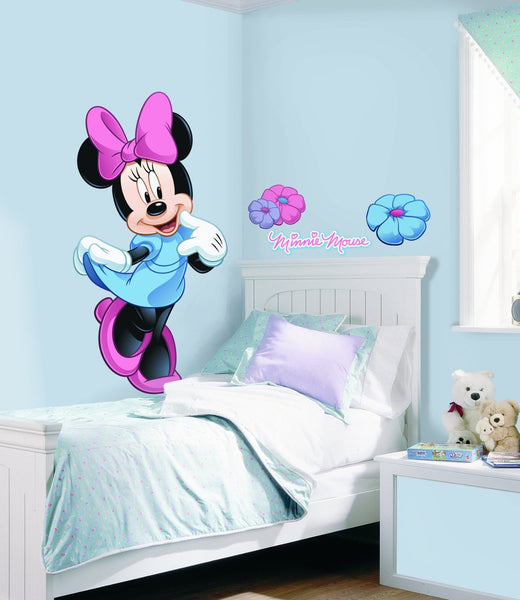 Minnie Mouse Giant Wall Decal Fun Rooms For Kids