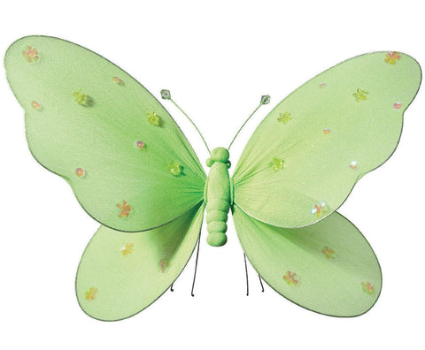 Green Hanging Butterfly