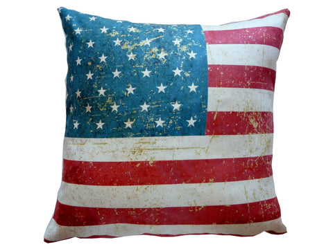 American Flag Stars & Stripes Pillow