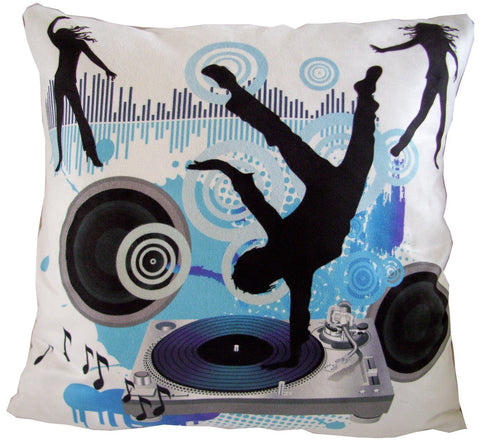 Dance Music Pillow