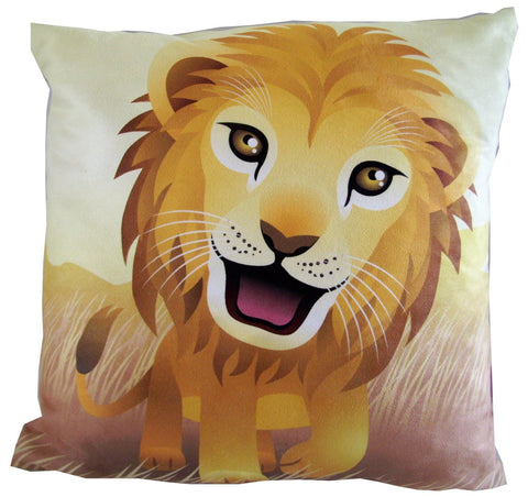 Luxury Jungle Lion Pillow