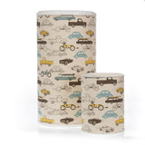 Traffic Jam Car Print Hamper & Waste Can Set
