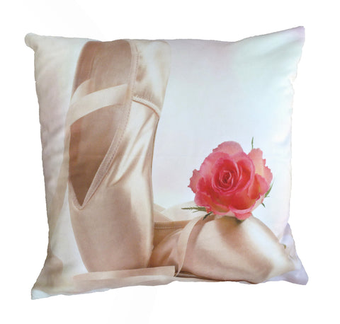 Ballet Shoes Pillow