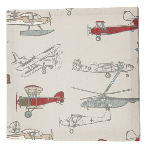 Airplane Print Wall Canvas