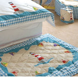Beach House Floor Quilt